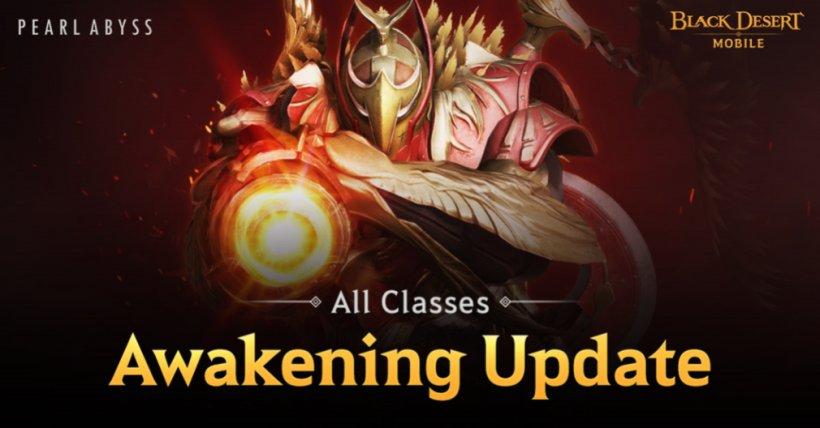 Black Desert Mobile's character class Awakening system has finally arrived