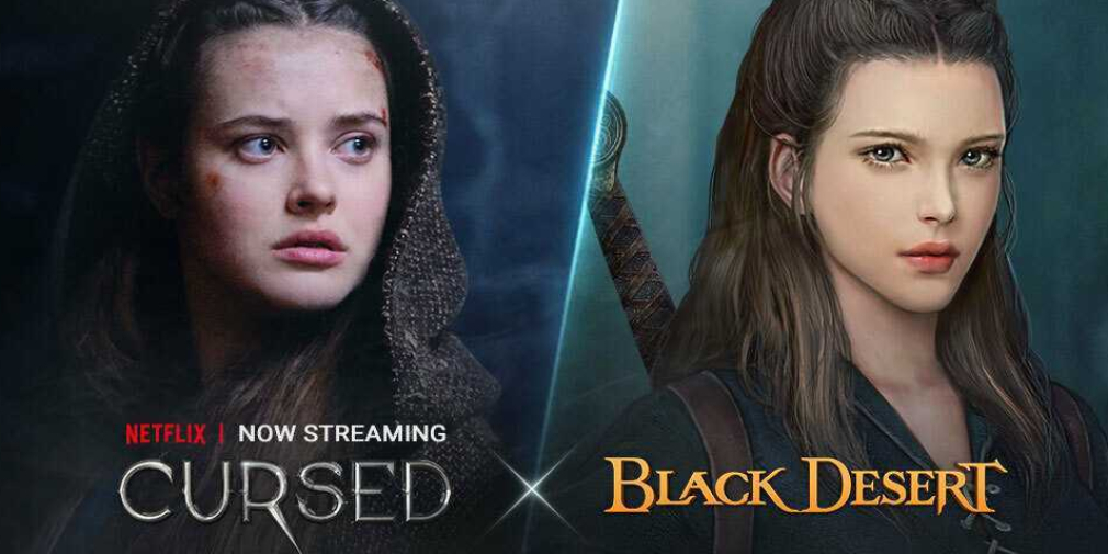 Black Desert Mobile's crossover event with Netflix's Cursed has begun