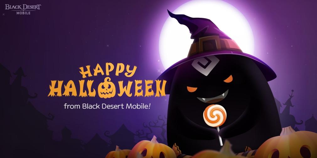 Black Desert Mobile fête déjà Halloween