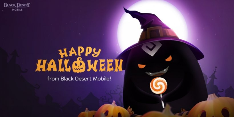 Black Desert Mobile is celebrating Halloween with in-game missions that provide spooky rewards