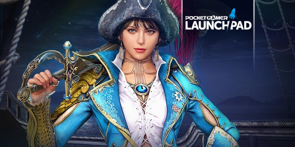 """Black Desert Mobile's new """"Great Ocean Expansion"""" will see players taking to the sea"""