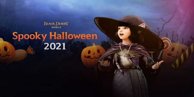 Black Desert Mobile celebrates Halloween with new spooky events and the implementation of AMD's new FidelityFX Super Resolution technology