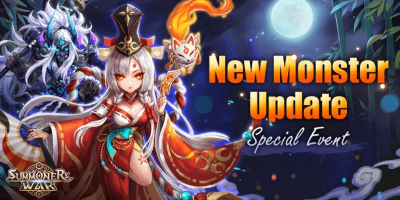 Summoners War's latest update introduces two new monsters that are inspired by Japanese folklore