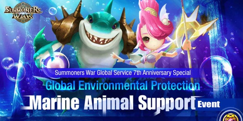 Summoners War partners with Korea Green Foundation for marine conservation in-game event