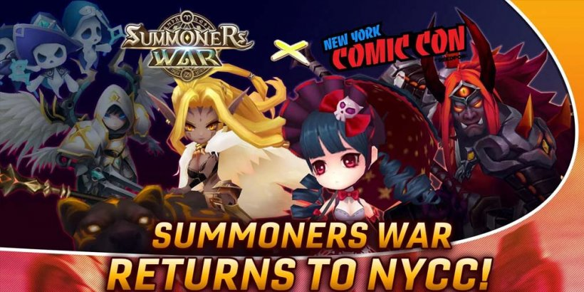 Summoners War is coming to New York Comic Con with giveaways and exclusive merch for sale