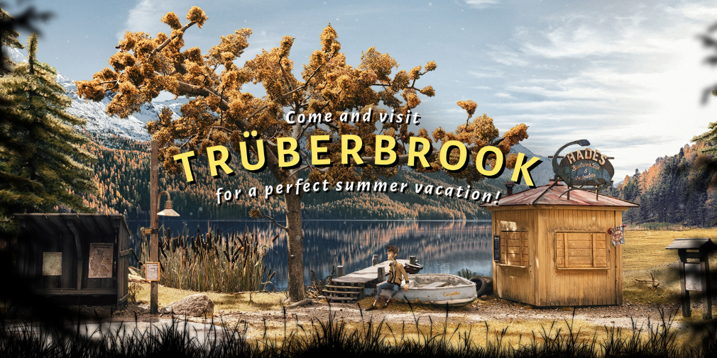 Gorgeous sci-fi adventure game Trüberbrook comes to iOS and Android next month