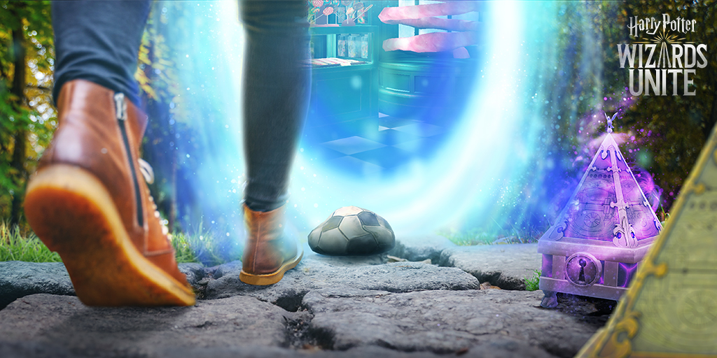 Harry Potter: Wizards Unite's latest update adds Adventure Sync compatibility, a feature that was added to Pokemon Go previously