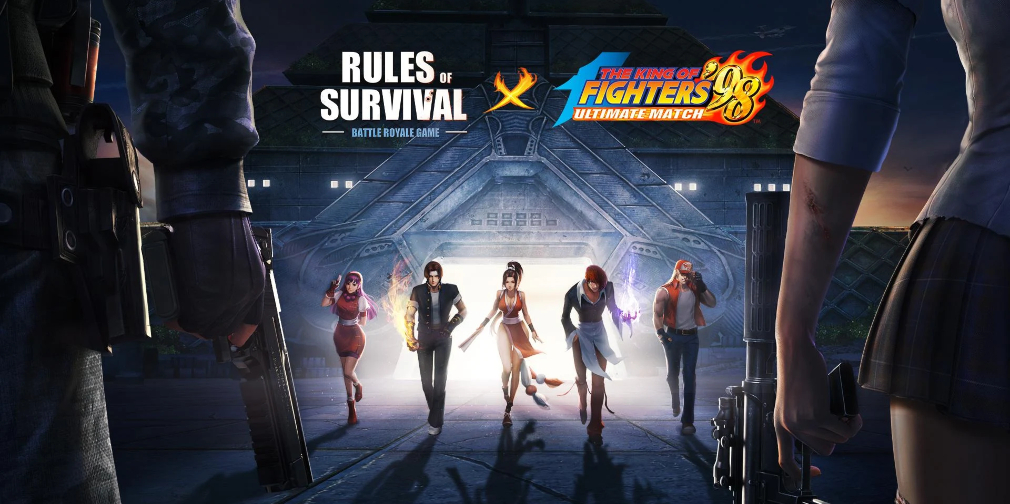 Popular battle royale game Rules of Survival adds classic King of Fighters characters