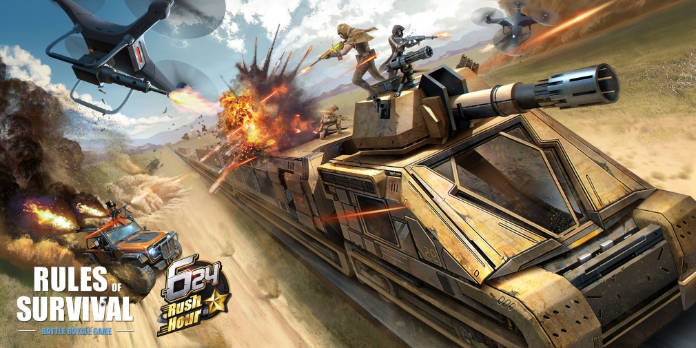Rules of Survival, NetEase's popular Battle Royale, is set to celebrate its Two-and-a-Half-Year Anniversary from tomorrow