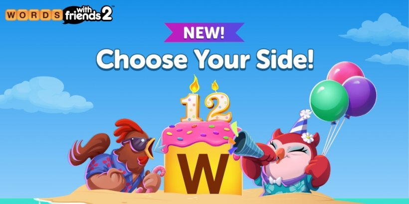 Words With Friends is celebrating its twelfth anniversary with a host of in-game events