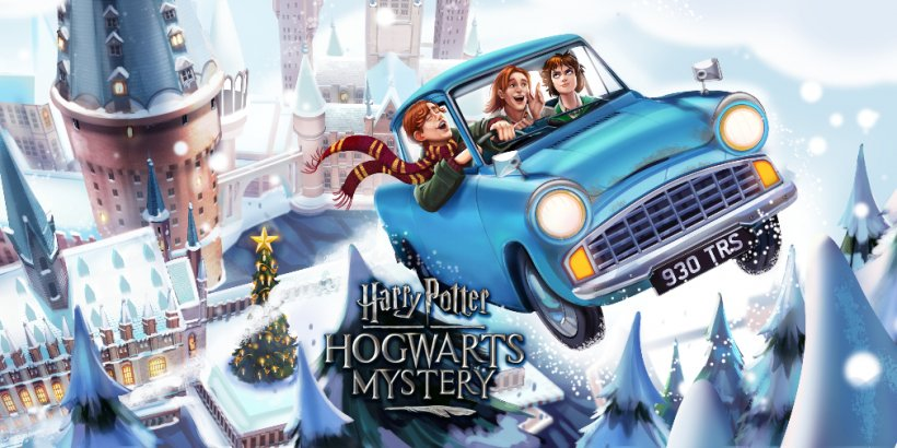 Harry Potter: Hogwarts Mystery's latest side quest lets you spend the holidays with the Weasleys