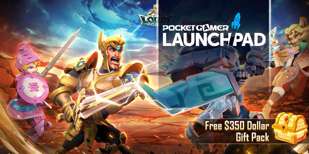 IGG launches free gift pack worth $350 for new Lords Mobile players