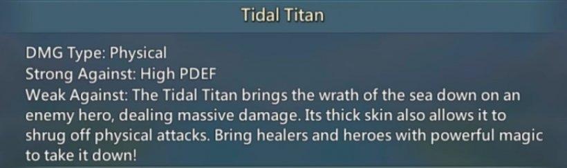 Lords mobile tidal titan monster hunt