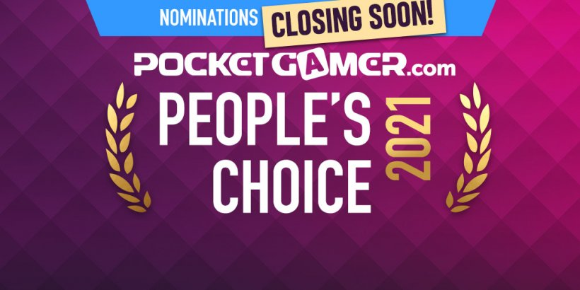 Last chance: Have you nominated YOUR favourite game for the PG People's Choice Award 2021?