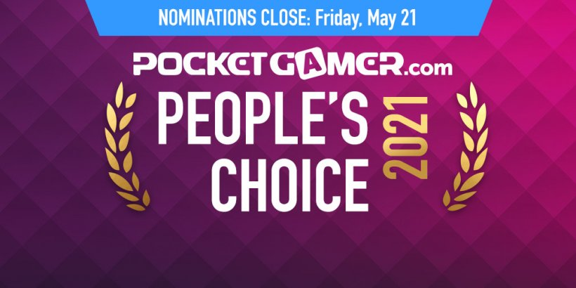 One week left to nominate your GOTY for the Pocket Gamer People's Choice Award 2021