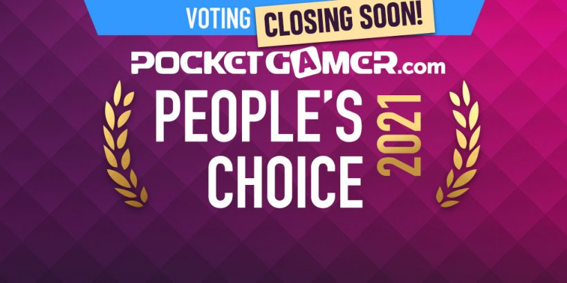 FINAL WEEK: Vote now for the Pocket Gamer People's Choice Award 2021