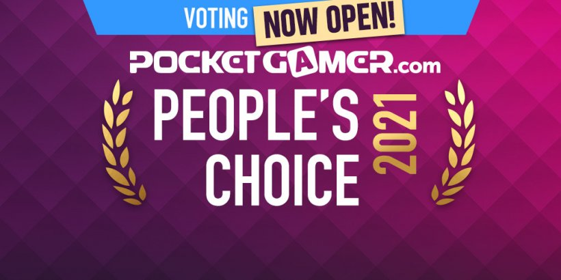 VOTE NOW: The Pocket Gamer People's Choice Awards 2021 finalists are live