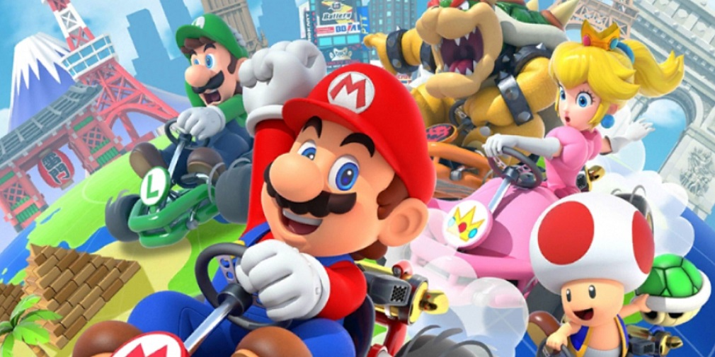 Mario Kart Tour's Winter tour begins next week