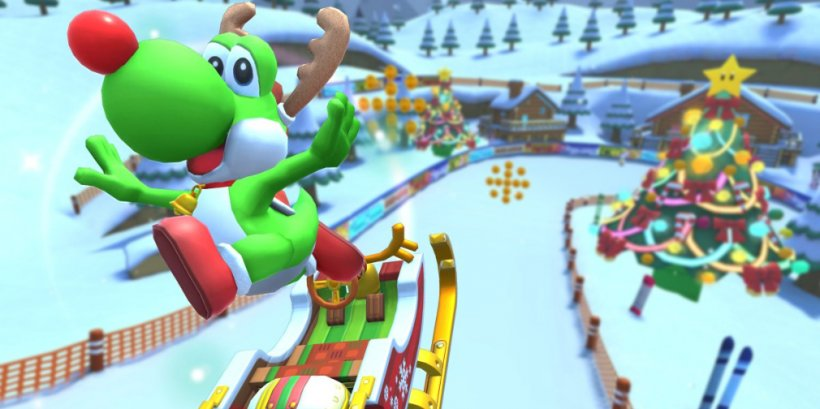Mario Kart Tour's Holiday Tour closes out 2019 in style with new drivers and 18 challenging cups
