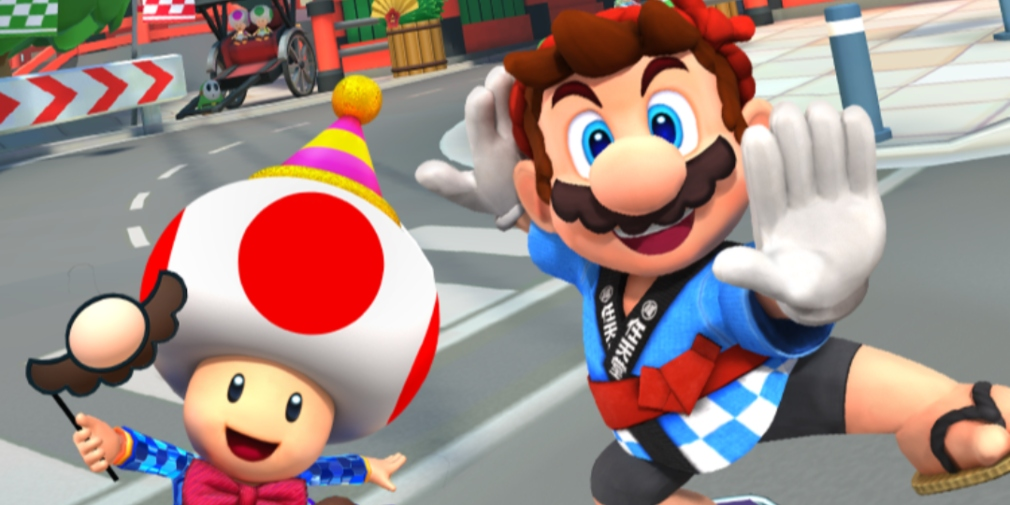 Mario Kart Tour kicks off its New Year's Tour today