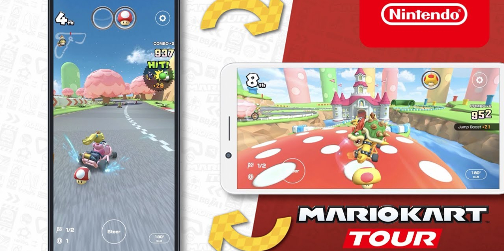 Mario Kart Tour is set to add a landscape mode with reworked controls