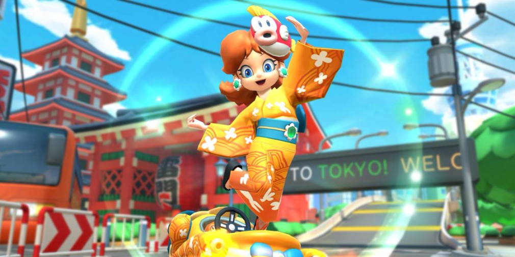 Mario Kart Tour's Summer Tour kicks off today and introduces Yukata Daisy