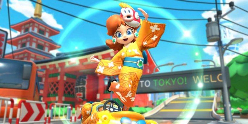 Mario Kart Tour's Summer Tour kicks off today and introduces Yukata Daisy