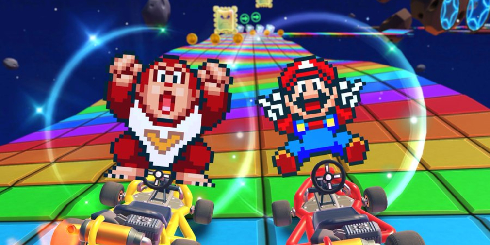 Mario Kart Tour's next tour introduces SNES Mario and Donkey Kong