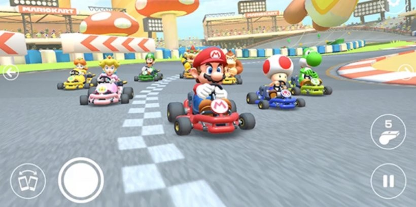 Mario Kart Tour's latest update introduces an Auto Mode as the first-anniversary tour begins its second leg