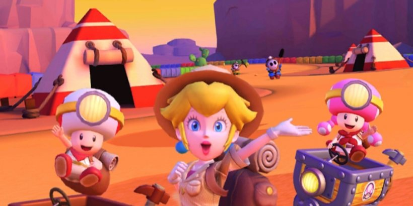 Mario Kart Tour's Sunset Tour is underway now with Explorer Peach available in the Spotlight Pipe