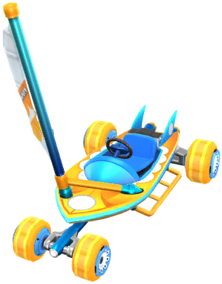 Mario Kart Tour kart tier list Sunny Sailer