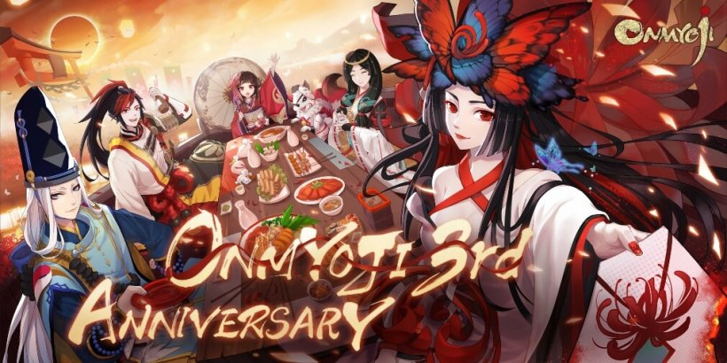 Onmyoji is celebrating the English server's third-anniversary with a bunch of in-game benefits