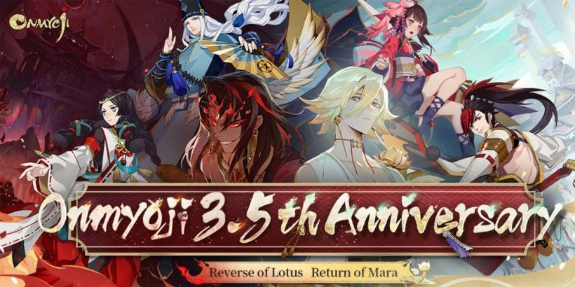 Onmyoji adds SSR Asura and tons of giveaways in 3.5th anniversary event