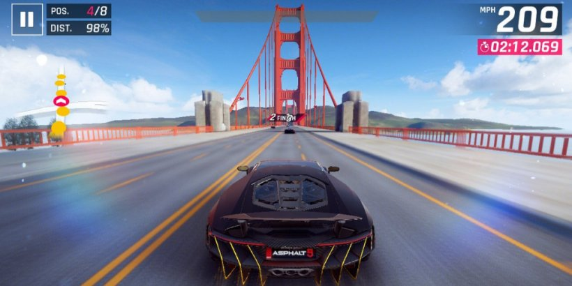Asphalt 8: Airborne and Asphalt 9: Legends are set to team up with the electronic music festival Junction 2