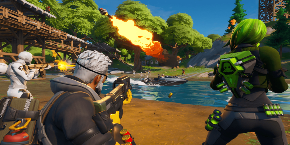Fortnite Chapter 2 drops in with a whole new map, gameplay features and Battle Pass tweaks
