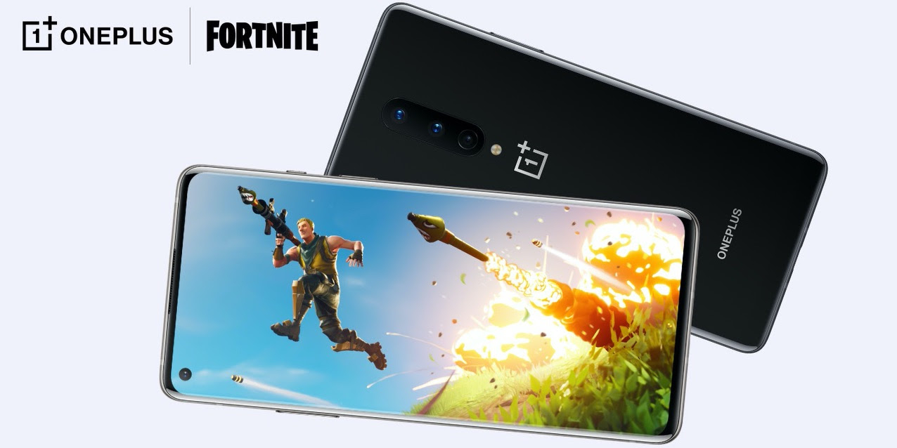 Fortnite is now playable at 90 FPS on the OnePlus 8