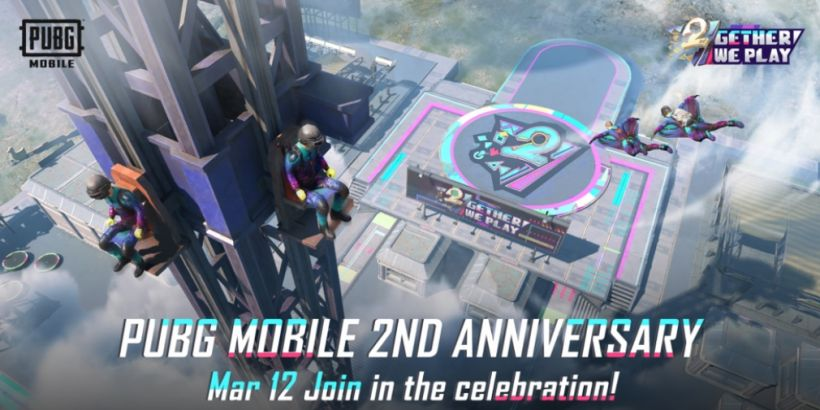 PUBG Mobile's 2-year anniversary celebrations are underway with a host of events, including an in-game amusement park
