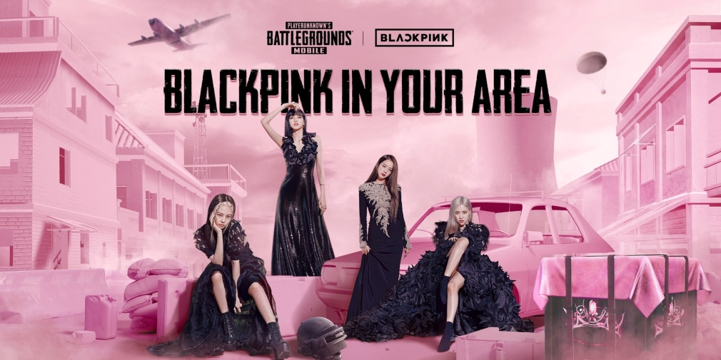 PUBG Mobile's collaborative event with K-pop group BLACKPINK is underway now