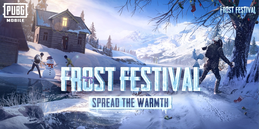 PUBG Mobile's Frost Festival game mode has arrived, covering Erangel in snow and inviting players to explore Frost Castles