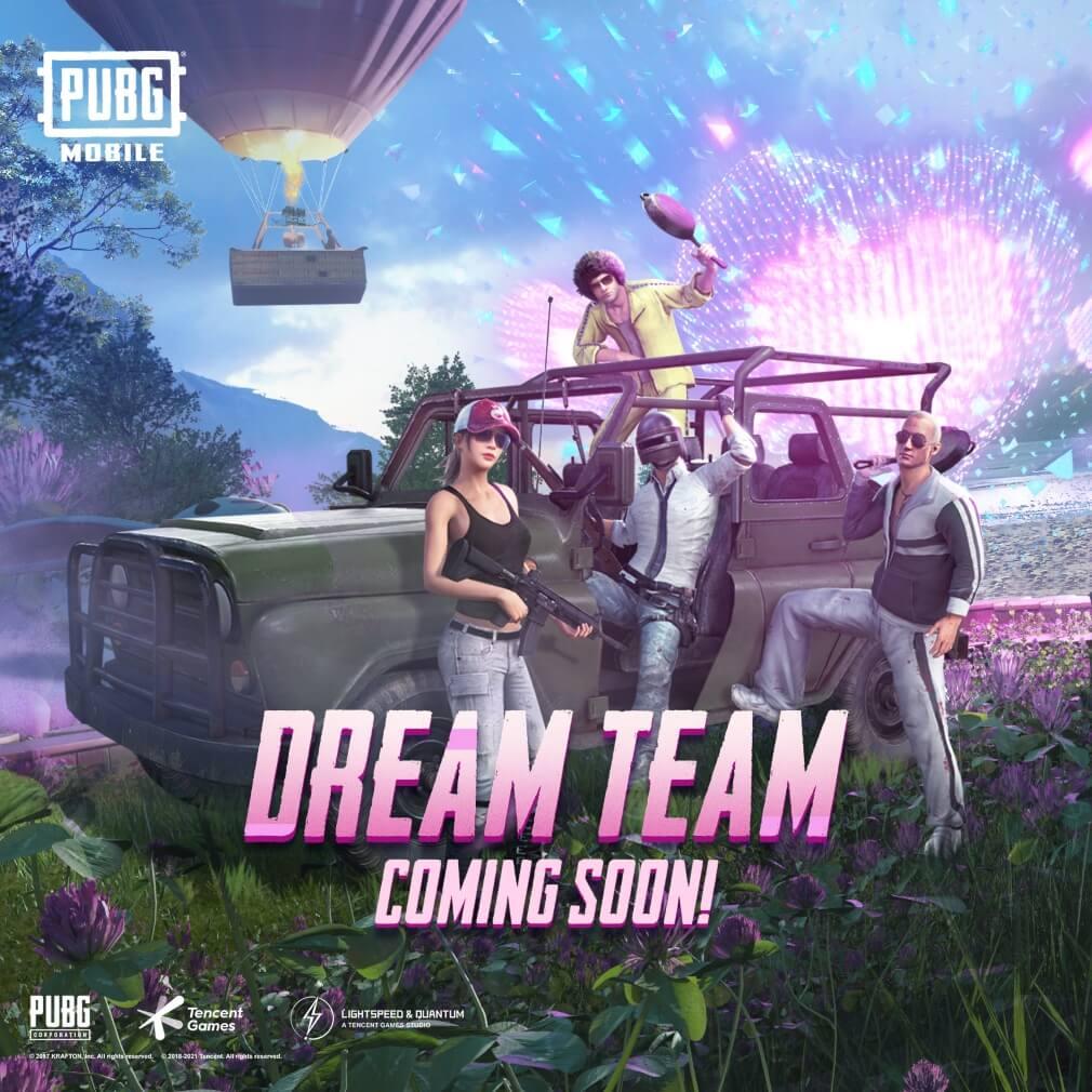 PUBG Mobile Version 1.2 Brings Power Armor Mode & Dream Team Theme