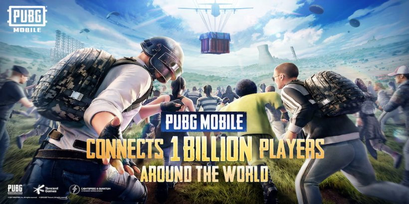 PUBG Mobile crosses 1 billion downloads and partners up with Warner Bros. for an upcoming Godzilla event
