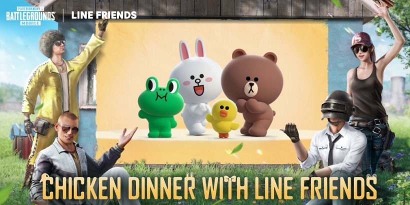 PUBG Mobile teams up with global character brand LINE FRIENDS for a collaboration event