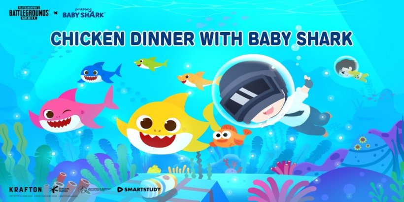 PUBG Mobile has partnered with the pop music phenomenon, Pinkfong Baby Shark