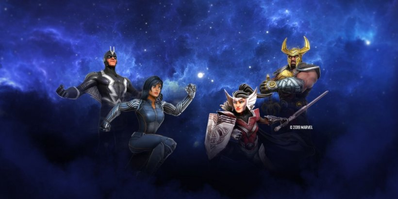Heimdall, Black Bolt, and more set to arrive in Marvel Strike Force this month