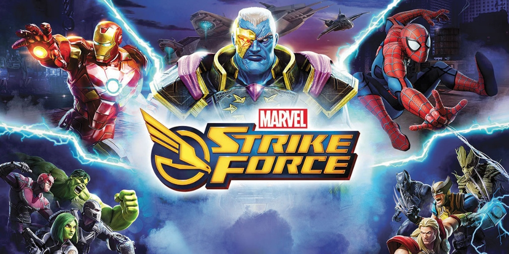 Test de MARVEL Strike Force