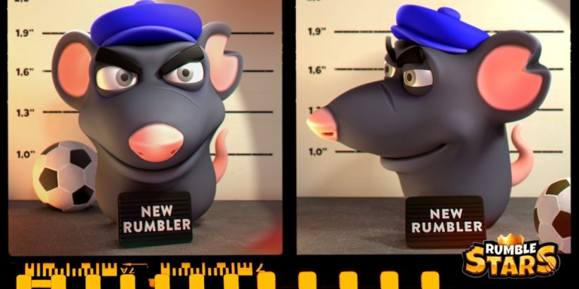 Rumble Stars' incoming update will introduce the Heavy Rat Rumbler to the popular soccer game