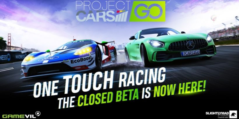 Project CARS GO's first closed beta test gets underway today for selected iOS and Android users