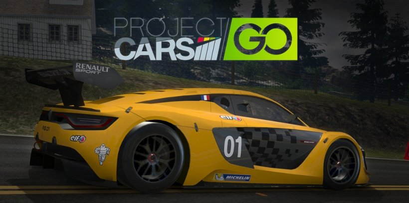 Project CARS GO, the accessible one-touch racing sim, is available now for iOS and Android