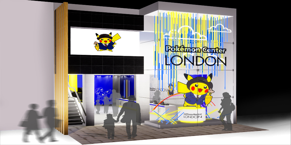Pokemon Centre to open in London for a limited time
