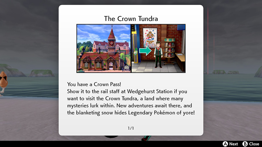 Crown Tundra walkthrough Nintendo Switch